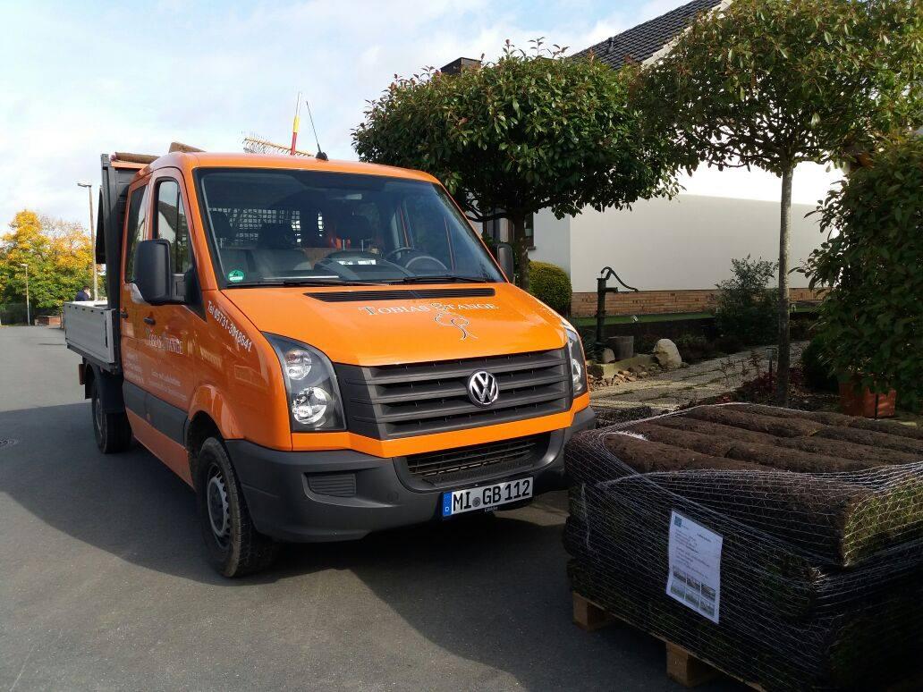 Unser Transporter für die kleinen Baustellen